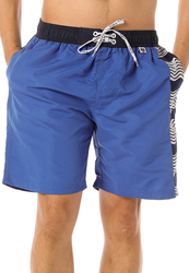 Scipo Sails Drawstring Shorts for Men, Extra Large, Blue
