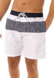 Scipo High Tide Drawstring Shorts for Men, Extra Large, White