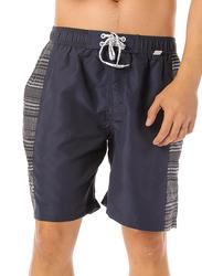 Scipo Kelp Drawstring Shorts for Men, Double Extra Large, Navy Blue