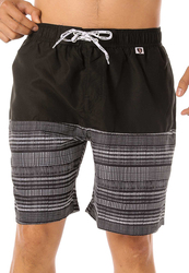 Scipo Tow Drawstring Shorts for Men, Double Extra Large, Black