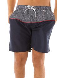 Scipo Current Drawstring Shorts for Men, Medium, Navy Blue