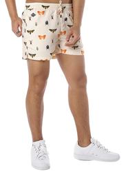 Nikben Bugsy Drawstring Shorts for Men, Large, Beige