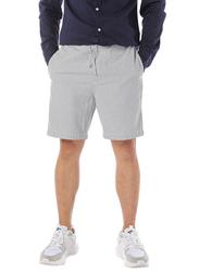 Dedicated Vejle Thin Stripes Drawstring Shorts for Men, Small, Multicolour