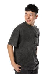 Criminal Damage Essential Utility Short Sleeves T-Shirt for Men, Extra Large, Black
