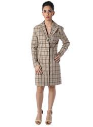 NA-KD Checked Blazer Dress, 40 EU, Multicolour
