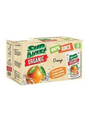 Sunblast Organic Orange Juice, 10 x 200ml