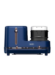 Deerma Multifunction Breakfast Machine Toaster with Pan, DEM-ZC10, Royal Blue