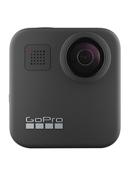 GoPro Max GPMax Action Camera with 2 Lens Caps, 16.6 MP, Black