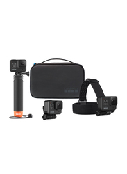 GoPro Hero 8 Action Camera with Hyper Smooth 2.0, 12 MP, with Adventure Kit Bundle, Black