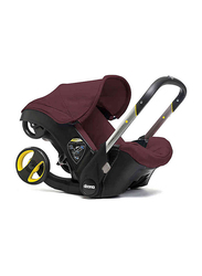 Doona 0+ Infant Baby Convertible Car Seat and Stroller, Burgundy