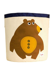 3 Sprouts Storage Bin, Toffee Bear, Brown