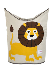 3 Sprouts Laundry Hamper, Lion, Yellow
