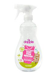 Dapple Baby Pure N Clean Stain Remover Fragrance Free Spray, 16.9oz, Clear