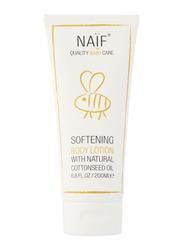 Naif Softening Body Lotion, 200ml, White