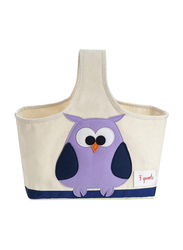 3 Sprouts Storage Caddy, Owl, Purple