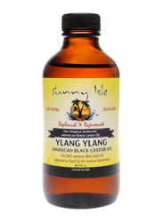Sunny Isle Ylang Ylang Jamaican Black Castor Oil for All Hair Types, 4oz