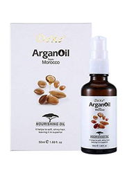 Dexe Argan Oil Nourishing Hair Oil for All Hair Types, 50ml