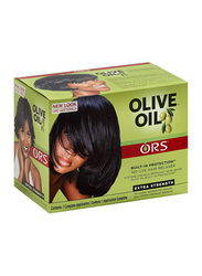 ORS Extra Strength Olive Oil No-Lye Hair Relaxer Kit for All Hair Types, 150gm