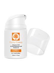 Pretty Cowry Hyaluronic Acid with Vitamin C Face Cream, 50ml