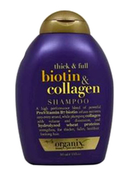 Organix Thick and Full Biotin & Collagen Normal Hair Shampoo for All Hair Types, 385ml