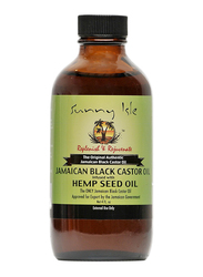 Sunny Isle Jamaican Black Castor Oil Infused with Hemp Seed Oil for All Hair Types, 4oz