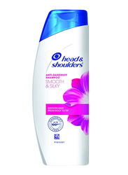 Head & Shoulders Smooth & Silky Anti-Dandruff Shampoo for All Hair Types, 400ml