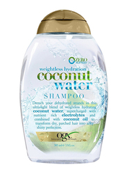 Ogx Weightless Hydration + Coconut Water Shampoo for All Hair Types, 385ml