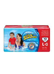 Huggies Little Swimmers Diapers, Size 5/6, Large, 14+ kg, 10 Count