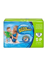 Huggies Little Swimmers Diapers, Size 3, Small, 7-12 kg, 12 Count