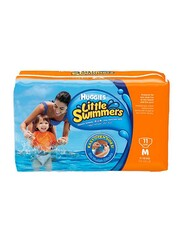 Huggies Little Swimmers Diapers, Size 4, Medium, 11-15 kg, 11 Count
