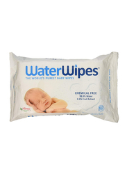 Water Wipes Single Pack Baby Wipes for Newborn, 60 Pieces