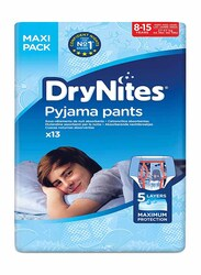 DryNites Pyjama Pants Boy Diapers, 8-15 Years, 27-57 kg, Maxi Pack, 13 Count