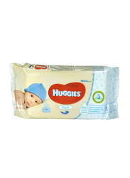 Huggies Pure Baby Wipes for Newborn, 56 Pieces