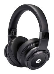 Motorola Escape 800 ANC Wireless Bluetooth Over-Ear Noise Cancelling Headphones with Mic, Black