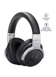 Motorola Escape 500 ANC Wireless Bluetooth Over-Ear Noise Cancelling Headphones with Mic, Black