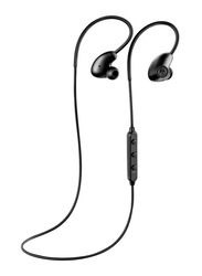 Motorola Verve Loop 500 ANC In-Ear Noise Cancelling Neckband Headset with Mic and Alexa Compatible, Black