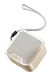 Anker SoundCore Nano Super Portable Wireless Bluetooth Speaker, Gold