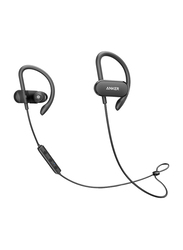 Anker SoundBuds Curve Wireless Bluetooth On-Ear Noise Cancelling Headset with Mic, Black