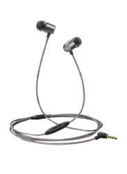 Anker SoundBuds Verve In-Ear Noise Cancelling Earphone with Mic, Black/Grey