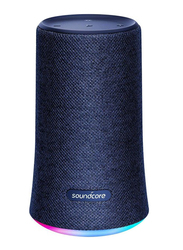 Anker SoundCore Flare Water-Resistant Portable Wireless Bluetooth Speaker, Blue