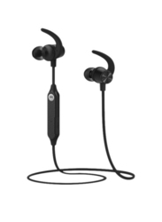Motorola VerveLoop 105 Wireless Neckband Headphones with Mic, Black