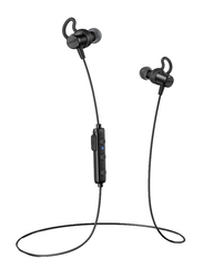 Anker SoundBuds Surge Wireless Bluetooth Water-Resistant Neckband Headset with Mic, Black