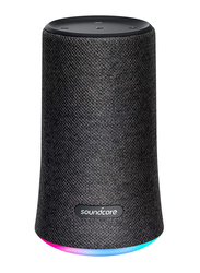 Anker SoundCore Flare Water-Resistant Portable Wireless Bluetooth Speaker, Black
