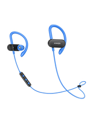 Anker SoundBuds Curve Wireless Bluetooth On-Ear Noise Cancelling Headset with Mic, Blue