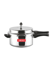 Nevica 5Ltr Aluminium Pressure Cooker, NV-2136PC, Silver