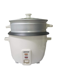 Nevica 1.5L Rice Cooker, 500W, NV-605 RC, White
