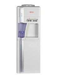 Nevica Hot and Cold Water Dispenser, with Refrigerator, NV-523WD-R, Off White