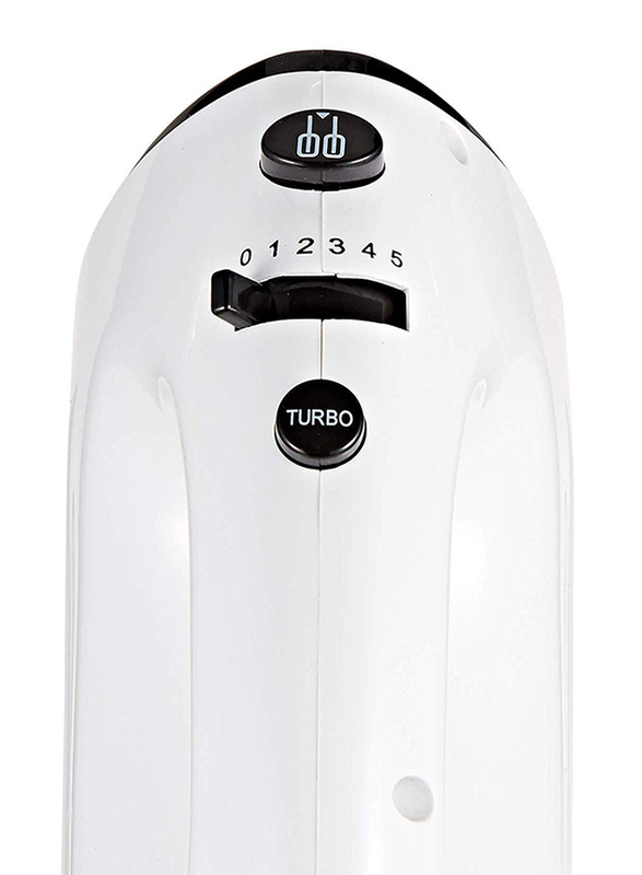 Nevica Stainless Steel Hand Mixer, 200W, NV-158HM, White