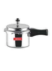 Nevica 3Ltr Aluminium Pressure Cooker, NV-2135PC, Silver