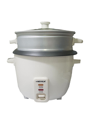 Nevica 0.8L Rice Cooker, 200W, NV-608 RC, White